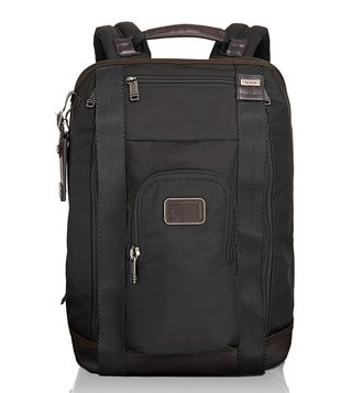 Tumi Black Alpha Bravo Edwards Backpack