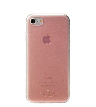 Kate Spade Rose Gold Glitter Iphone 8 Case