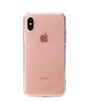 Kate Spade Rose Gold Glitter Iphone X Case