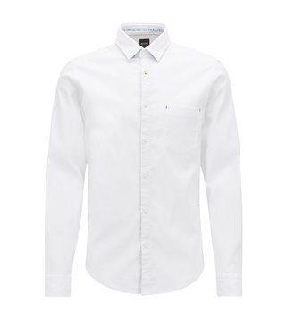BOSS White Baynix Regular Fit Shirt