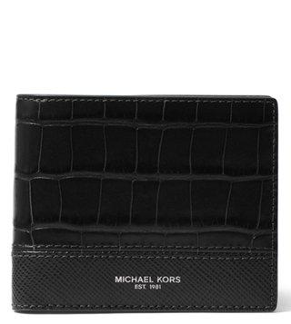 976de5740d30 MICHAEL Michael Kors Black Harrison Wallet ...