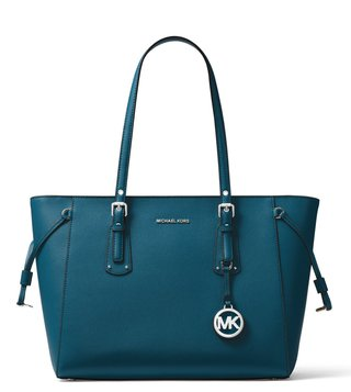 MICHAEL Michael Kors Luxe Teal Voyager Tote