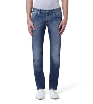 Armani Exchange Denim Indigo Slim Fit Overstitched Jeans