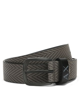Armani Exchange Moonmist Title Waist Belt