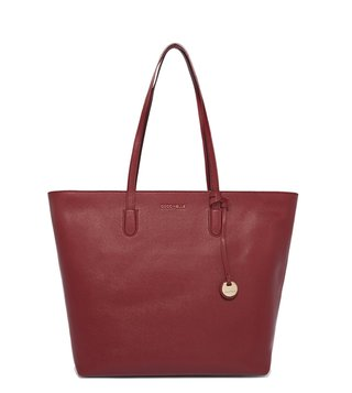 Coccinelle Grape Clementine Large Tote