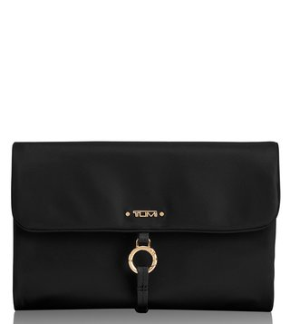 Tumi Black Voyageur Ennis Jewelry Travel Roll Case