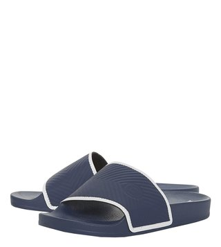 Dune London Navy Hemsworth Slides