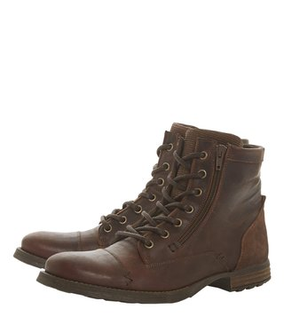Dune London Brown Charing Boots