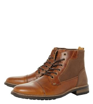 Dune London Tan Coutinho Boots