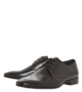 Dune London Black Piccolo Derby Shoes