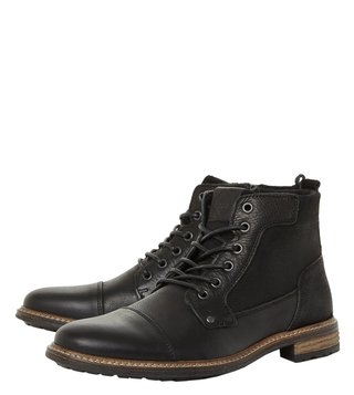 Dune London Black Coutinho Boots
