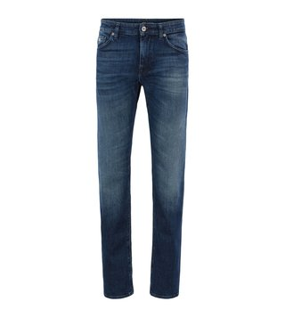 BOSS Bright Blue Regular Fit Jeans