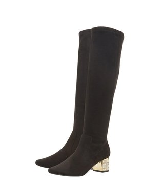 Dune London Black Starrie Booties