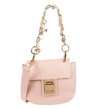 Steve Madden Blush Bcharmer Medium Chain Handle Cross Body Bag