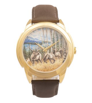 Jaipur Watch Company 502033 Hand Painted Wrist Watch