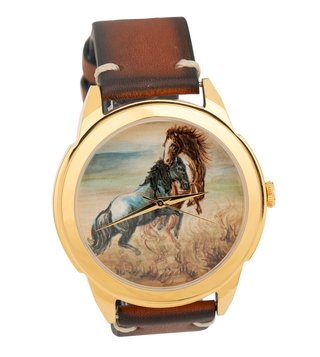 Jaipur Watch Company 502061 Hand Painted Wrist Watch