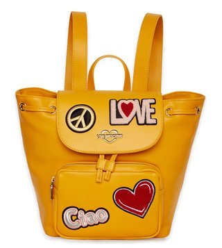 Love Moschino Giallo Borsa Large Top Handle Backpack