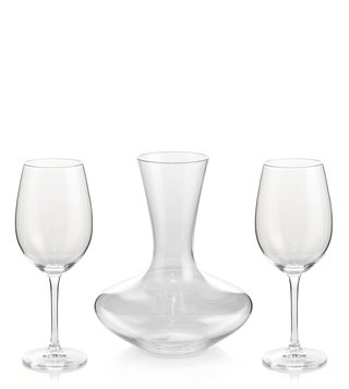 Zwiesel Kristallglas Transparent Schott Zwiesel Classico Glass Decanter with 2 Wine Glasses