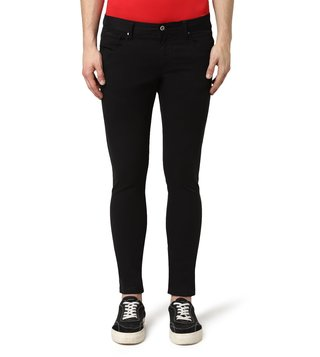 Armani Exchange Black Skinny Fit Jeans