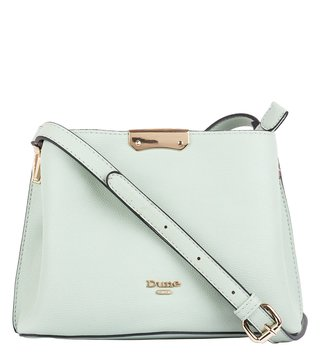Dune London Mint Plain Dinidarrow Small Cross Body Bag