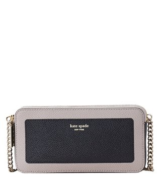 Kate Spade Multi Double Zip Mini Margaux Chain Handle Cross Body Bag