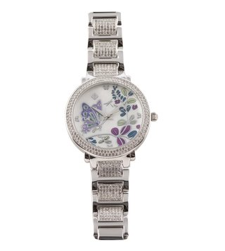 Jaipur Watch Company 705282 Envika Collection Enamel Analog Watch for Women