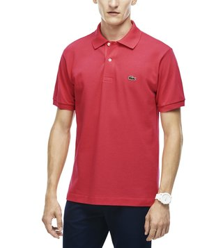 Lacoste Sirop Pink L.12.12 Classic Fit Polo T-Shirt