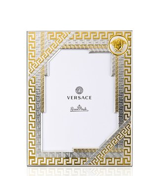 Versace Grey & Gold Porcelain Vhf1 13X18 Photoframe