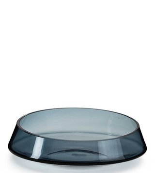 Zwiesel Kristallglas Black Zwiesel 1872 Glass Blau Klar Serving Bowl