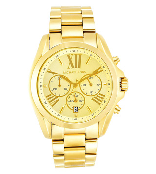 Michael Kors Bradshaw Gold Dial Watch for Women