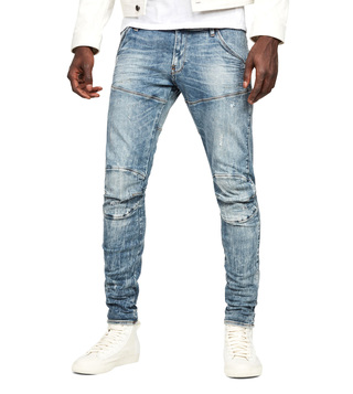 G-Star RAW Light Vintage Aged Destroy 5620 Super Slim Fit Jeans