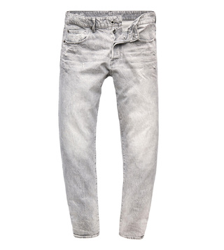 G-Star RAW Dusty Grey 3301 Straight Fit Jeans