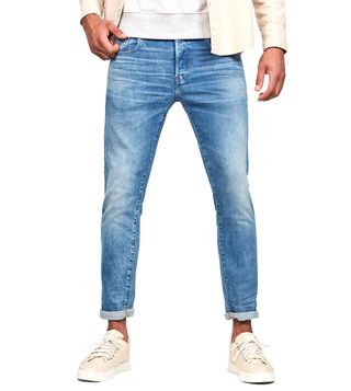 G-Star RAW Worn In Azure 3301 Slim Fit Jeans