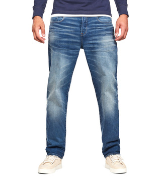 G-Star RAW Worker Blue Faded 3301 Regular Fit Jeans