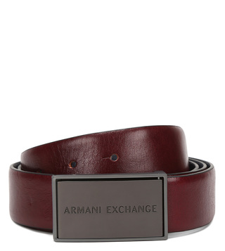 Armani Exchange Mosto & Blue Waist Belt