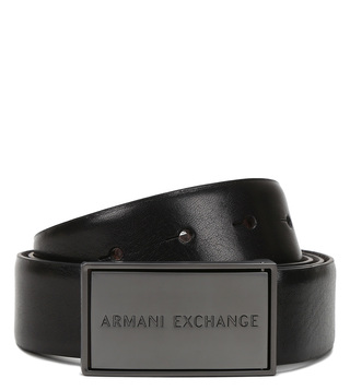 Armani Exchange Nero & Moro Waist Belt