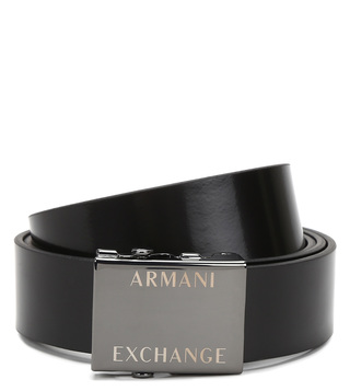 Armani Exchange Nero Waist Belt
