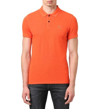 BOSS Open Orange Slim Fit Prime Polo T-Shirt