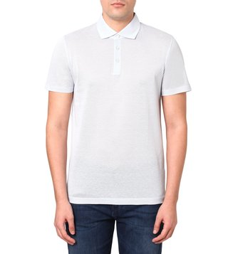 BOSS Light & Pastel Blue Slim Fit T-Pryde Polo T-Shirt