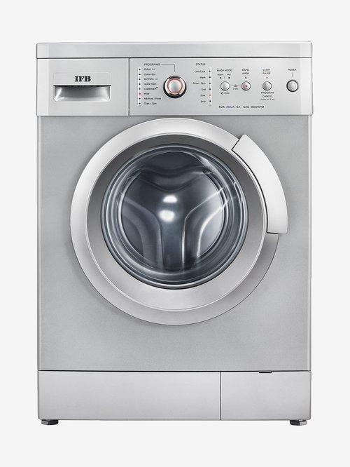 IFB 6Kg Fully Automatic Front Load Washing Machine Silver (EVA AQUA SX LDT, Silver)