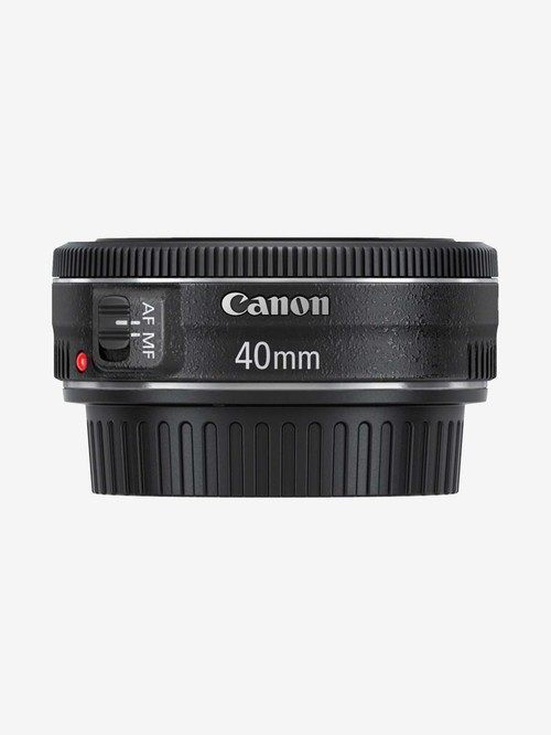 Canon EF40mm f/2.8 STM Medium Telephoto Lens  Black