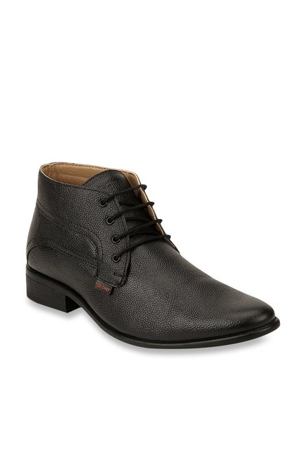 0f5cc7fae5d7 Buy Red Chief Black Formal Boots for Men at Best Price   Tata CLiQ