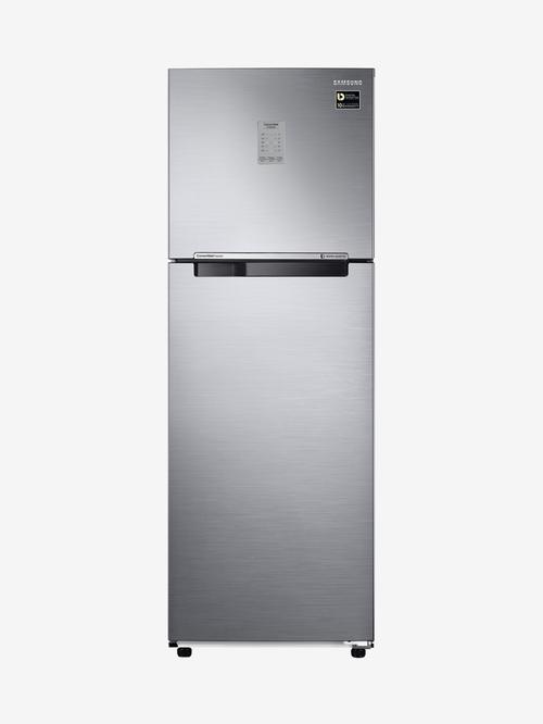 Samsung 275L Inverter 3 Star 2020 Frost Free Double Door Convertible Refrigerator  Inox,RT30K3723S8