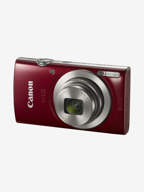 Canon IXUS 185 20 MP Point   Shoot Camera with 16 GB SD Card, Charger and Carry Case  Red