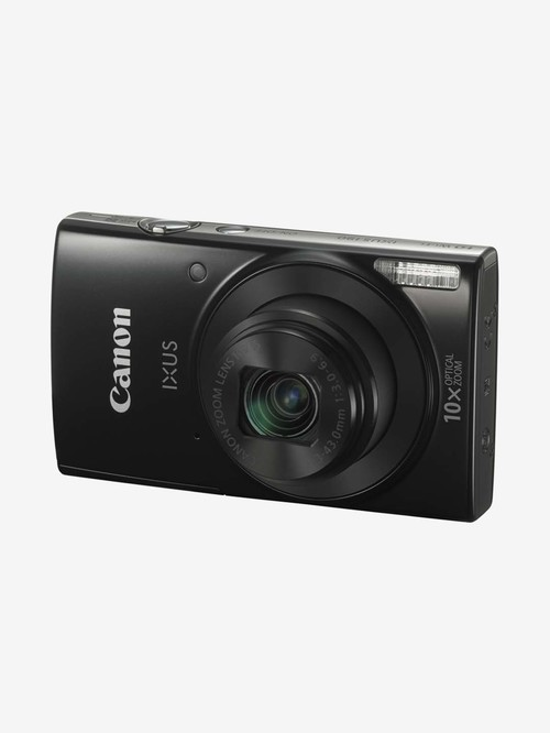 Canon IXUS 190 20 MP Point   Shoot Camera with 16 GB SD Card, Charger and Carry Case  Black