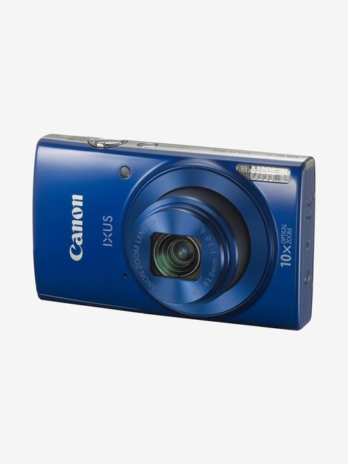 Canon IXUS 190 20 MP Point   Shoot Camera with 16 GB SD Card, Charger and Carry Case  Blue