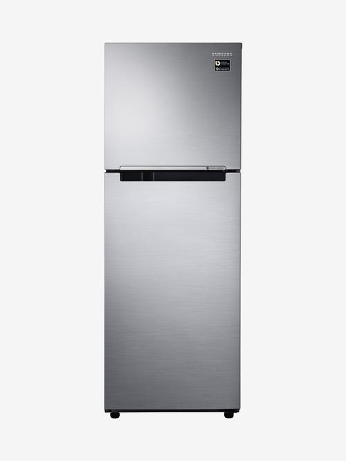 Samsung 253L Inverter 2 Star 2019 FF Double Door Refrigerator  Elegant Inox,RT28M3022S8/HL