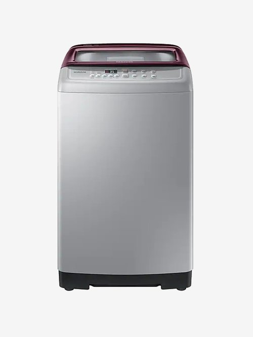 Samsung 7Kg Fully Automatic Top Load Washing Machine WA70M4300HPTL,Silver