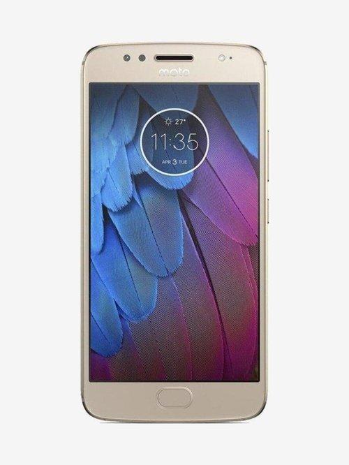 Motorola Moto G5s (Motorola XT1795) 32GB Fine Gold Mobile