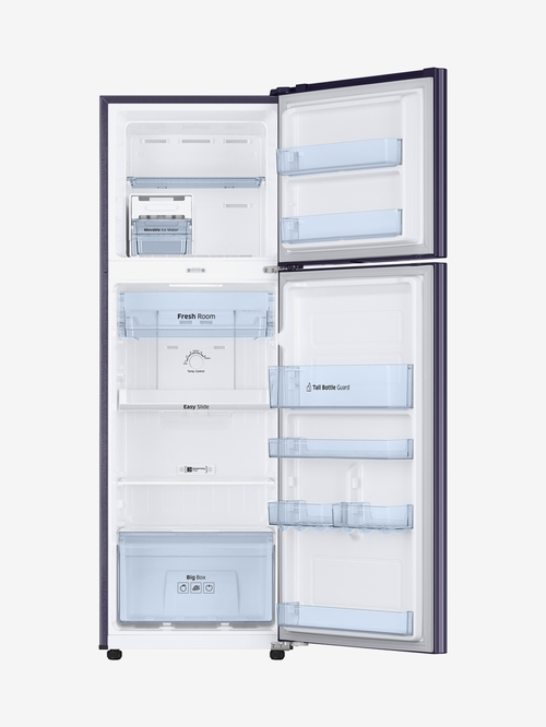 Samsung 275L Inverter 3 Star Frost Free Double Door Refrigerator  Pebble Blue, RT30M3043UT/HL
